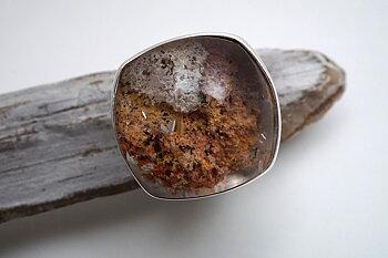Lodolit, ring JOD 925-silver