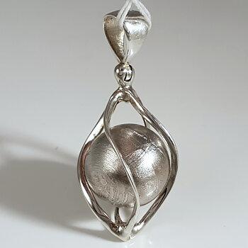 Meteoritsmycke, 925-silver