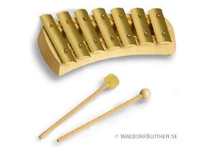 Musikinstrument: Klockspel Pentatoniskt utan bokstäver (KPQ007)