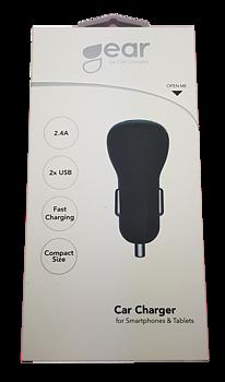 GEAR  2.4A 2 x USB