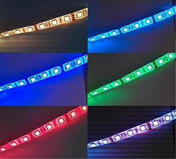 LED List/strip 5050 RGB IP65