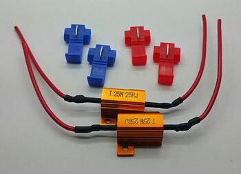 LED resistor / varnings canceller.