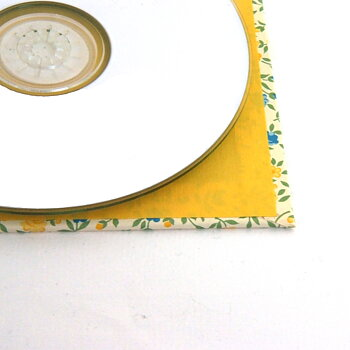 CD Case flower rain yellow blue