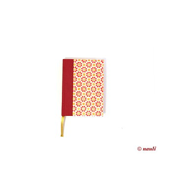 Small Day Planner 2020 stampflower red orange
