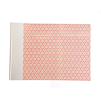 Heirloom Wedding Photo Album XL red dutch tile