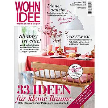 Wohnidee Wohnen+Leben 09/2014