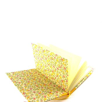 Notebook Flower Rain pink yellow