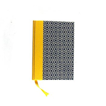 Small Day Planner 2020 Quatrefoil blue yellow