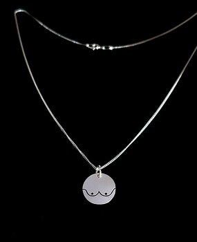 Hänge med bröst - Sterling silver 925