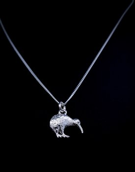 Hänge med Kiwifågel Kivier - Sterling silver 925