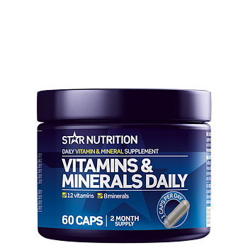 Star Nutrition Vitamins & Minerals Daily