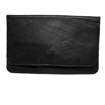 Plånbok i skinn - Svart