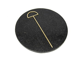 HAIR PIN 1 - raw brass