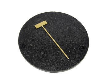 HAIR PIN 7 - raw brass