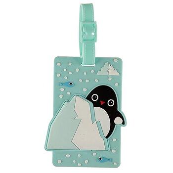 Bagagetag Pingvin
