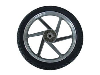 BERG  WHEEL 6-SPOKE GREY 2.75X17 LEFT-GranTour Racer 4sits