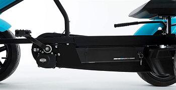 BERG trampbil BLACK EDITION E-BFR