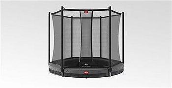 Studsmatta BERG FAVORIT INGROUND 270 GREY + SAFETY NET COMFORT