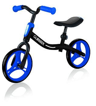 GLOBBER Balanscykel GO Bike Svart/Blå