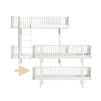 Ombyggnadsset Våningssäng till 2 st Dagbäddar Wood
