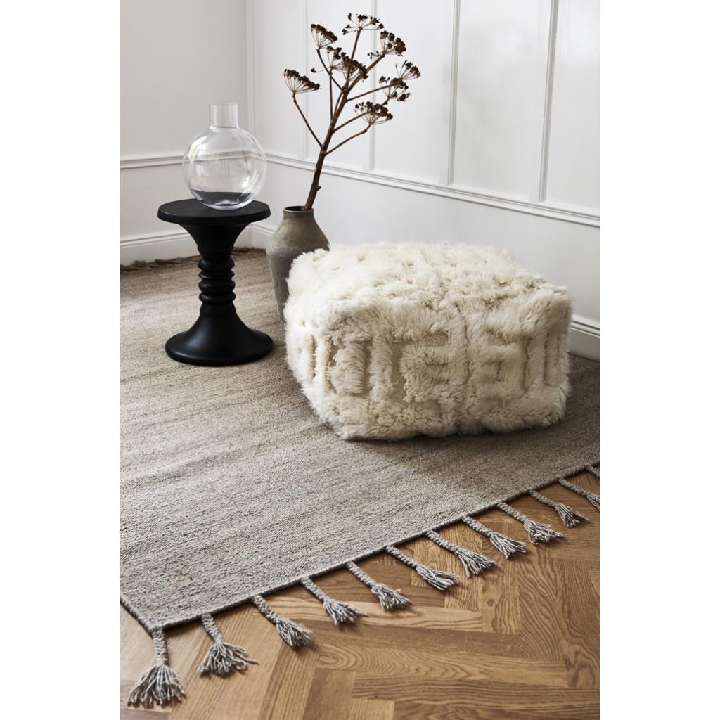 Garderob 2 dörrar Wood vit vit, Oliver Furniture Solhem