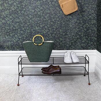 Skoställ BILL Shoe Shelf valnöt, Maze