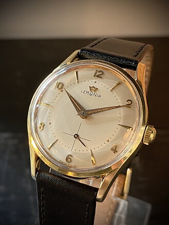 Vintage Watch, Lemania Subsec