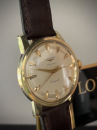 Vintage Watch, Longines Conquest
