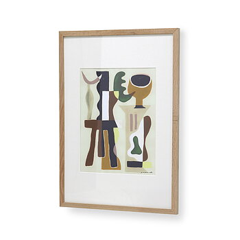 Framed art 'Garance Valleé for HK Living'