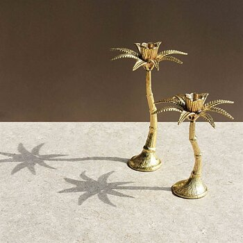 "Candleholder ""Palm tree"" Large  - &klevering"