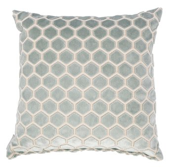 "Cushion ""Monty"" Light blue - Zuiver"