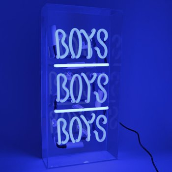"Neon light ""BOYS BOYS BOYS"""