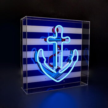 "Neon light ""Anchor"""