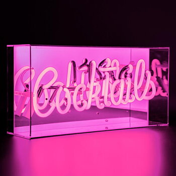 "Neon light ""Cocktails"""
