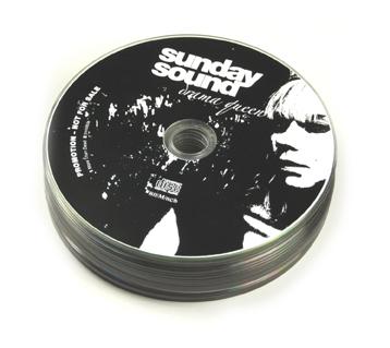 CD med tryk i bulkpack