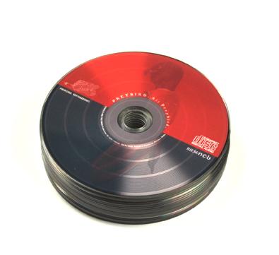 DVD 4-värin painatuksella bulkkipakkaus
