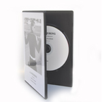 CD with print in DVD Slimbox (7mm spine) including printed insert