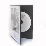 CD med trykk i DVD Slimbox (7mm ryggrad) inkl trykt innlegg