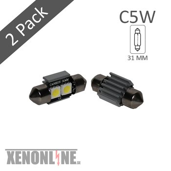 C5W 31 MM 2SMD Canbus
