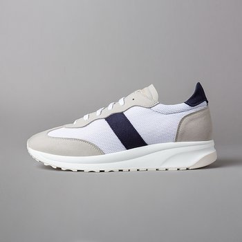 PHANTOM - VEGAN SUEDE/MESH/VEGAN LEATHER - WHITE/LT.GREY