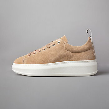 CLUB TECH WMN - SUEDE/POLIDO - BEIGE