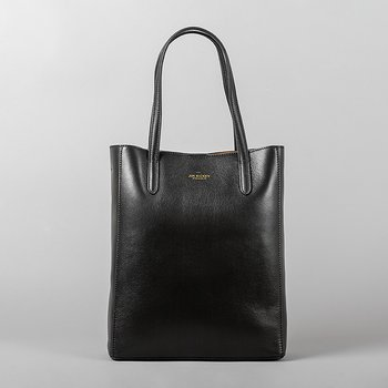 ANN MINI - GRAINED LEATHER - BLACK