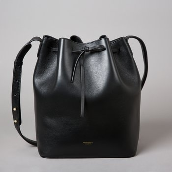 ABELONE MINI - TUMBLED LEATHER - BLACK