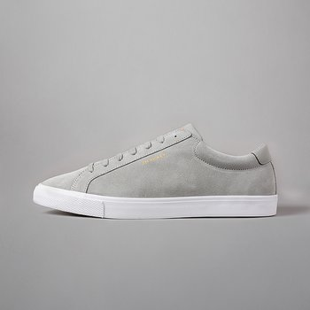 CHOP - COW SUEDE/PU - LT.GREY