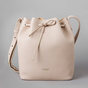 ABELONE MINI - TUMBLED LEATHER - BEIGE