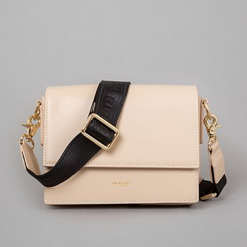 HANNE - FLAT LEATHER - BEIGE