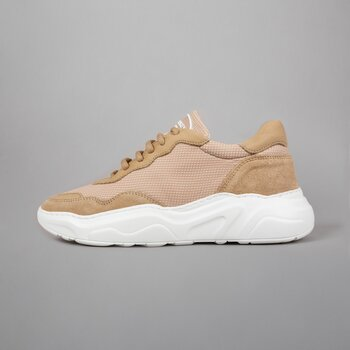 WINNER WMN - LEATHER MESH - SAND