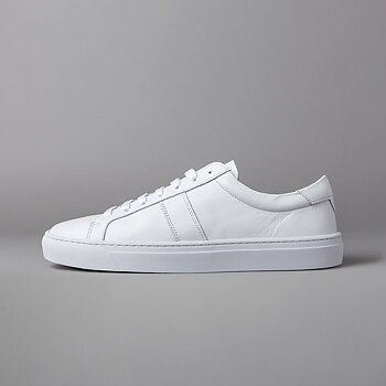 BLANK - FLAT LEATHER - WHITE