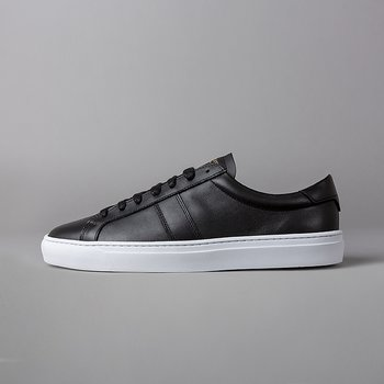 BLANK - FLAT LEATHER - BLACK