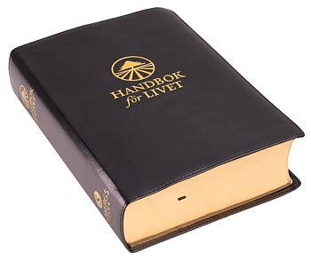 Handbok för livet - Helbibel. Svart